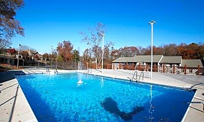 Pool, Germantown Garden Apartments, 0
