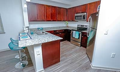 Kitchen, Sterling King Apartments, 2