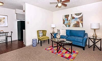 Living Room, Canyon Village Apartment Homes, 1