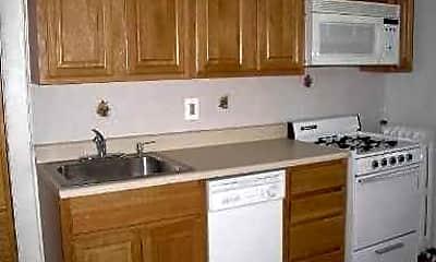 Kitchen, Pineda Apartments, 1