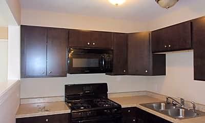 Kitchen, 4616 Maple Ave 2D, 1
