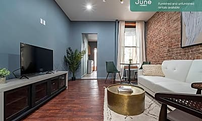 Living Room, 225 E 83rd St, 0