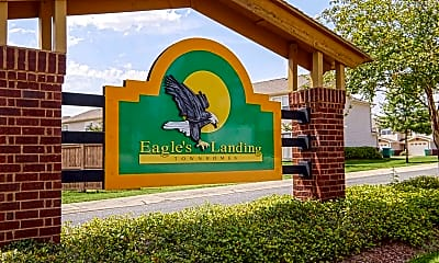 Community Signage, Eagles Landing Townhomes, 2