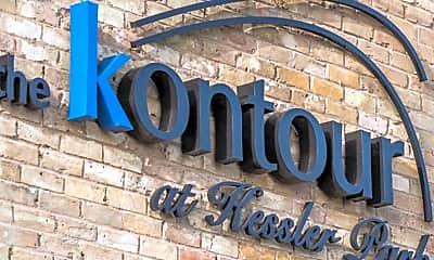 Building, The Kontour at Kessler Park, 2