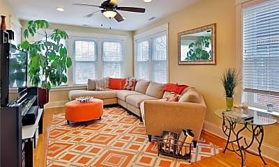 Living Room, 6253 Rosebury Ave 3W, 1