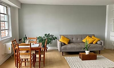 Living Room, 60 W 142nd St 15-C, 0