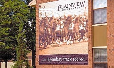 Community Signage, Plainview Apartments, 2