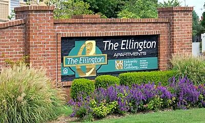 Community Signage, The Ellington at Kirby, 2