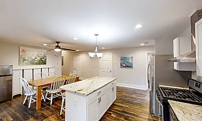Kitchen, Room for Rent -  less than a minute walk to bus st, 1