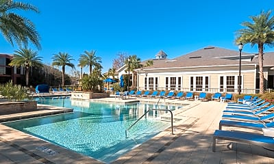 Pool, Coventry Park Apartments, 1