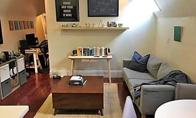 Living Room, 1386 McAllister St, 0