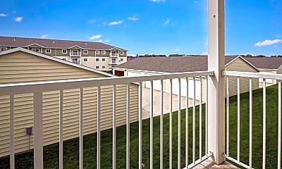 Patio / Deck, Roosevelt East Apartments, 2