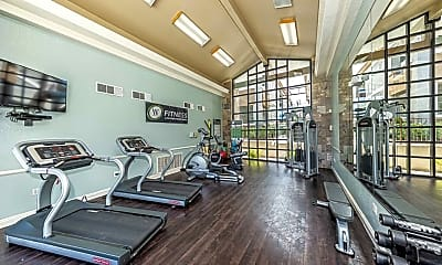 Fitness Weight Room, The Clubs at Rhodes Ranch, 1