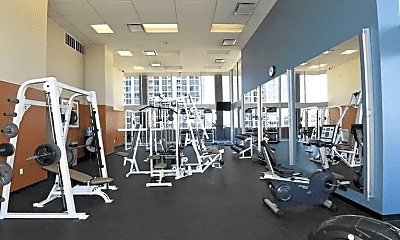 Fitness Weight Room, 1617 Fannin Station S, 2