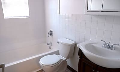 Bathroom, Hillside Terrace, 2