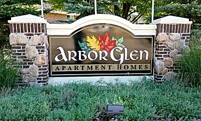Community Signage, Arbor Glen Apartment Homes, 2