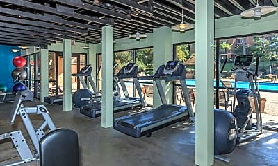 Fitness Weight Room, Las Colinas Heights, 1