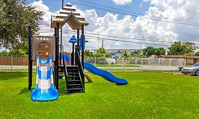 Playground, Lake House Apartments, 2