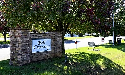 Community Signage, Bell Crossing Of Clarksville, 1