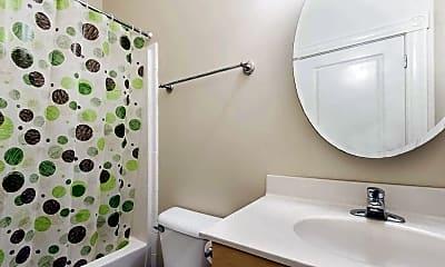 Bathroom, The Biggs Building Apartments, 2