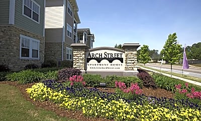 Community Signage, Arch Street Apartment Homes, 0