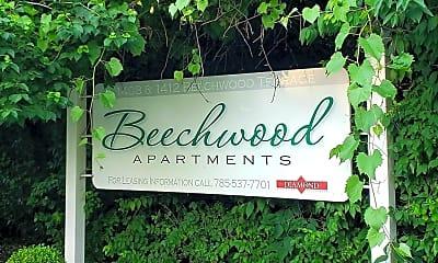 Community Signage, 1412 Beechwood Terrace, 1