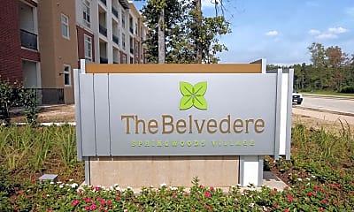 Community Signage, The Belvedere at Springwoods Village, 2