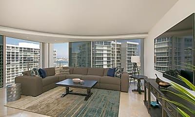 Living Room, 1760 Avenida Del Mundo 1109, 1