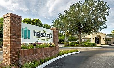 Community Signage, The Terraces at Lake Mary, 2