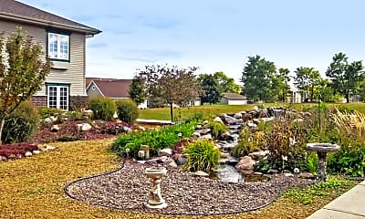 Landscaping, Portage RCAC Senior Apartments, 2