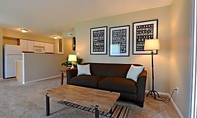 Living Room, The Villages At Waggoner Park, 0
