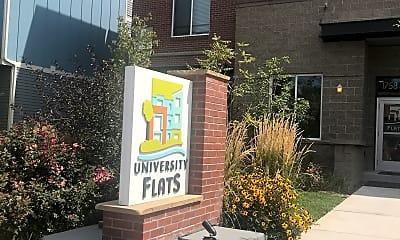 University Flats, 1