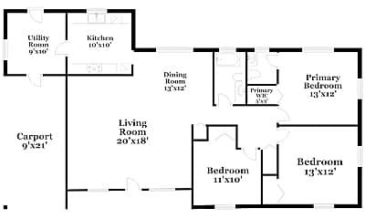 Building, 8302 Hibiscus Rd, 1