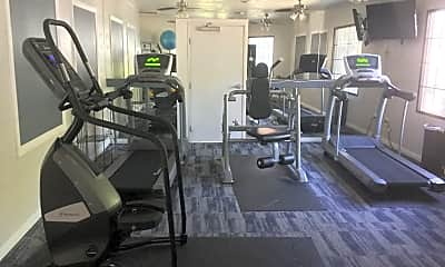 Fitness Weight Room, Bay Breeze Apartments, 1
