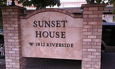 Sunset House Apartments, 1