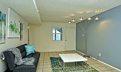 Living Room, Villas At Mueller, 1