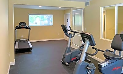 Fitness Weight Room, Woodlawn Gardens, 2