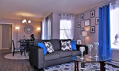 Living Room, Cheyenne Crossing, 2