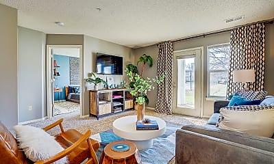 Living Room, The Vinings At Iron Bridge, 0