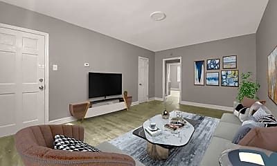 Living Room, 4901 Oxford Ave, 0