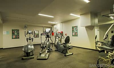 Fitness Weight Room, 445 Island Ave 407, 2