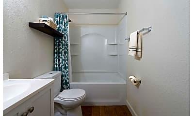 Bathroom, Green Door Apartments, 2