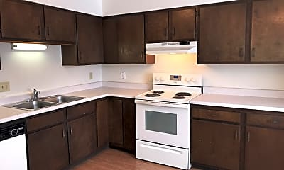 Kitchen, Cheever Apartments, 1