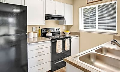 Kitchen, Beaumont Grand Apartment Homes, 1