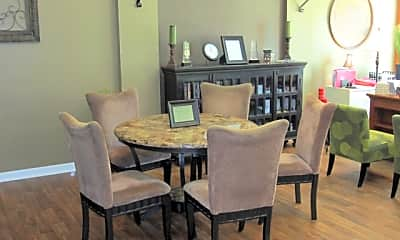 Dining Room, Towne Oaks, 0