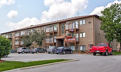 Building, Riverbirch, 1