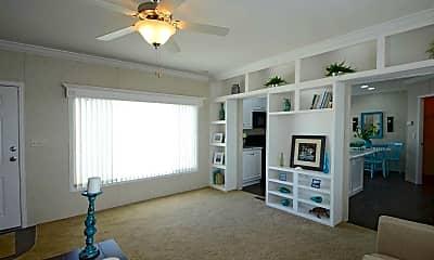 Living Room, Lake Sherman Village, 0