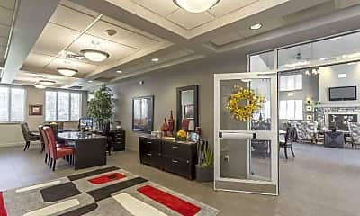 Leasing Office, Quail Run Apartments, 1