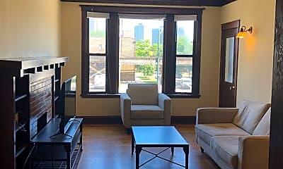 Living Room, 3700 N Sheffield Ave, 1