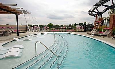 Pool, Aurora Apartments At North Bethesda Center, 2